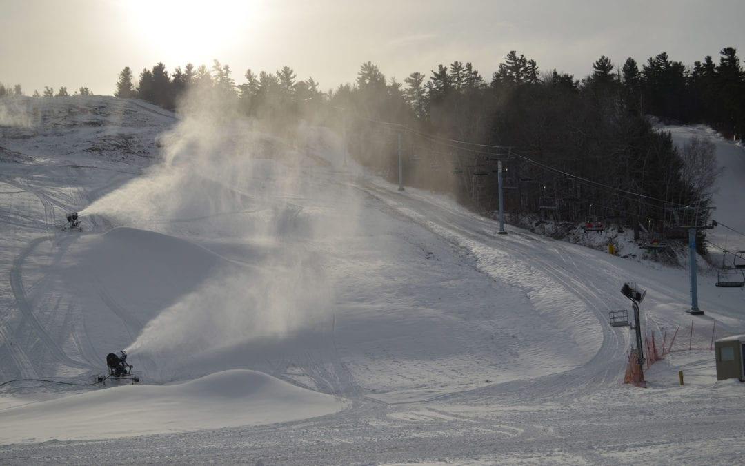 New Season - Snowmaking at Calabogie Peaks