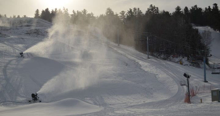 New Season - Snowmaking at Calabogie Peaks