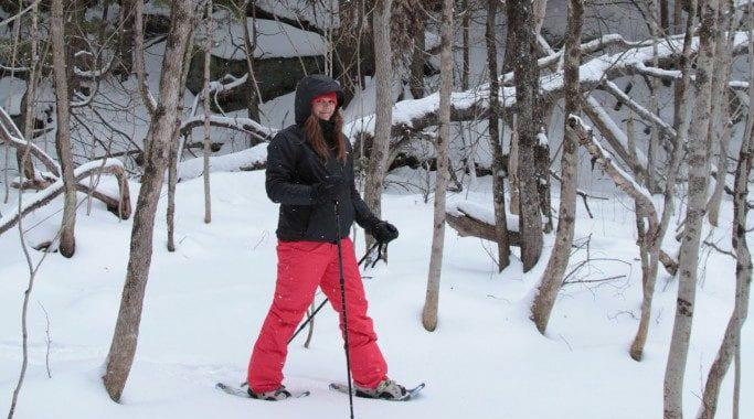 Snowshoeing at Calabogie Peaks