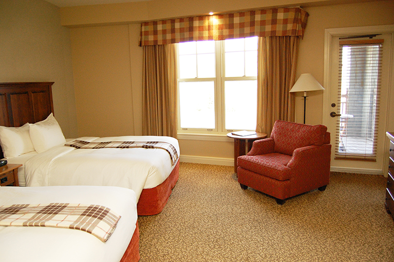 Hotel Rooms Ottawa Calabogie Peaks Double Queen Hotel Rooms
