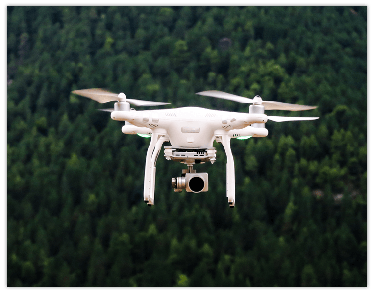 Mountain Policy drones