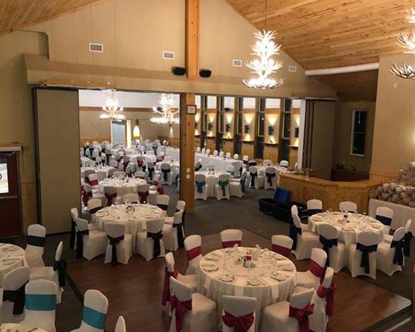 Indoor reception venues Ontario - Wedding Reception in The Annex and Algonquin Hall