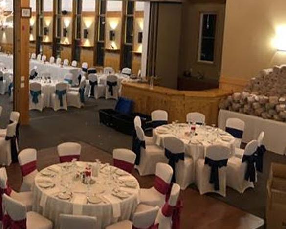 Indoor reception venues Ontario - Wedding Reception in The Annex