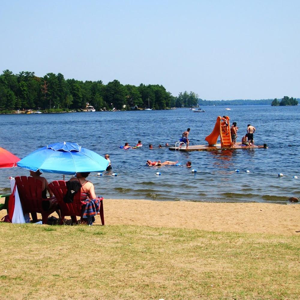 Beach at the Peaks - Ontario getaways