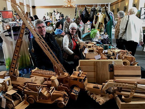 Christmas market at the Peaks - Ski Resort in Ottawa