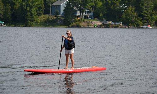 Paddle boarding Calabogie
