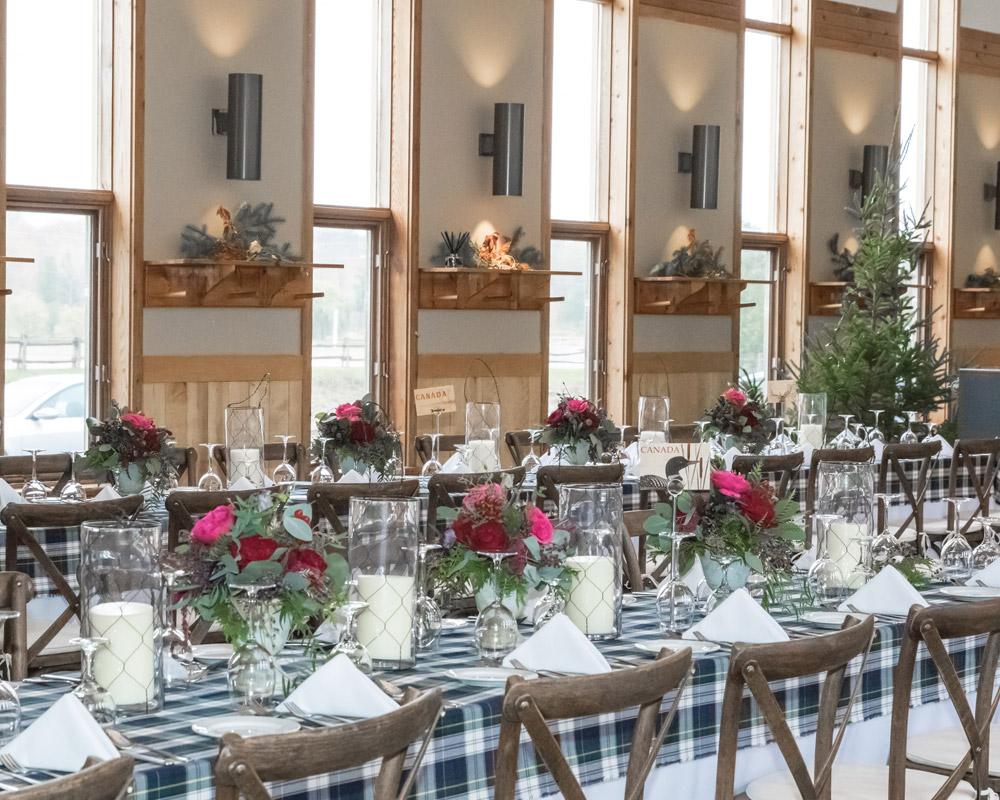 Indoor reception venues Ontario - Algonquin Hall