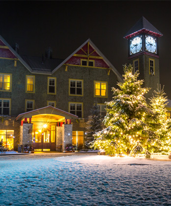 Ski resort in Ottawa Winter at Calabogie Hotel Ski Resort