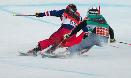 Ski Cross NORAM January 17-20 at the Peaks
