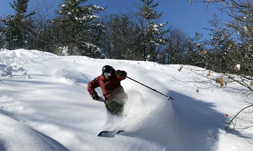 skiing activities at the Peaks