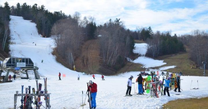 opening weekend - new ski season at the Peaks