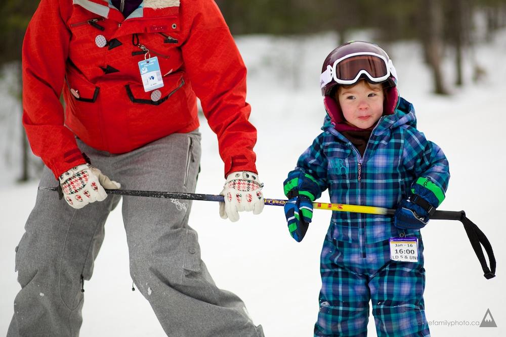 Rob Whelan and his Ski Family at the Calabogie Peaks Resort