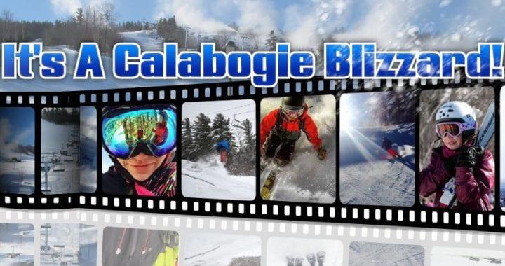 It's A Calabogie Blizzard! Ontario Highlands