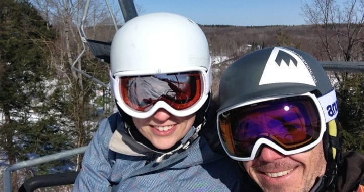 Rob Whelan Photo, - Ski Chairlift Selfie