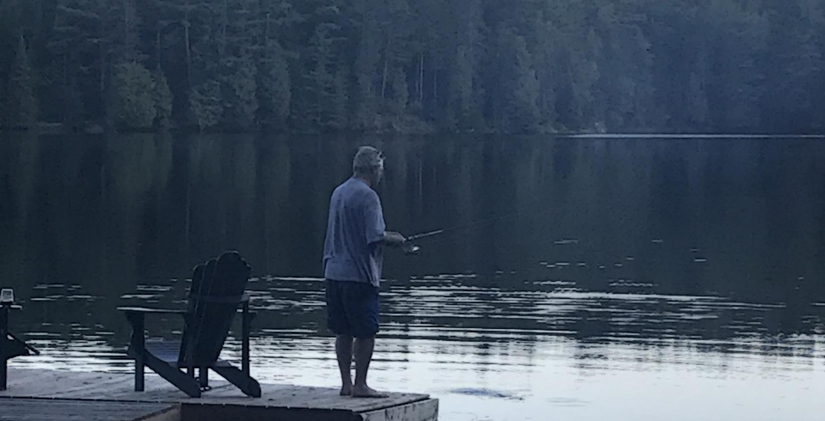 Fishing at Calabogie Peaks