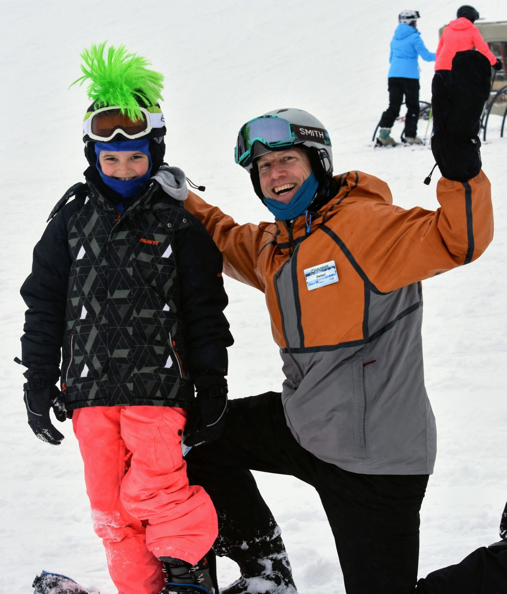 Ski Resort Lessons with snowboard and ski instructor near Ottawa