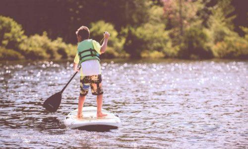 Paddleboard Boy